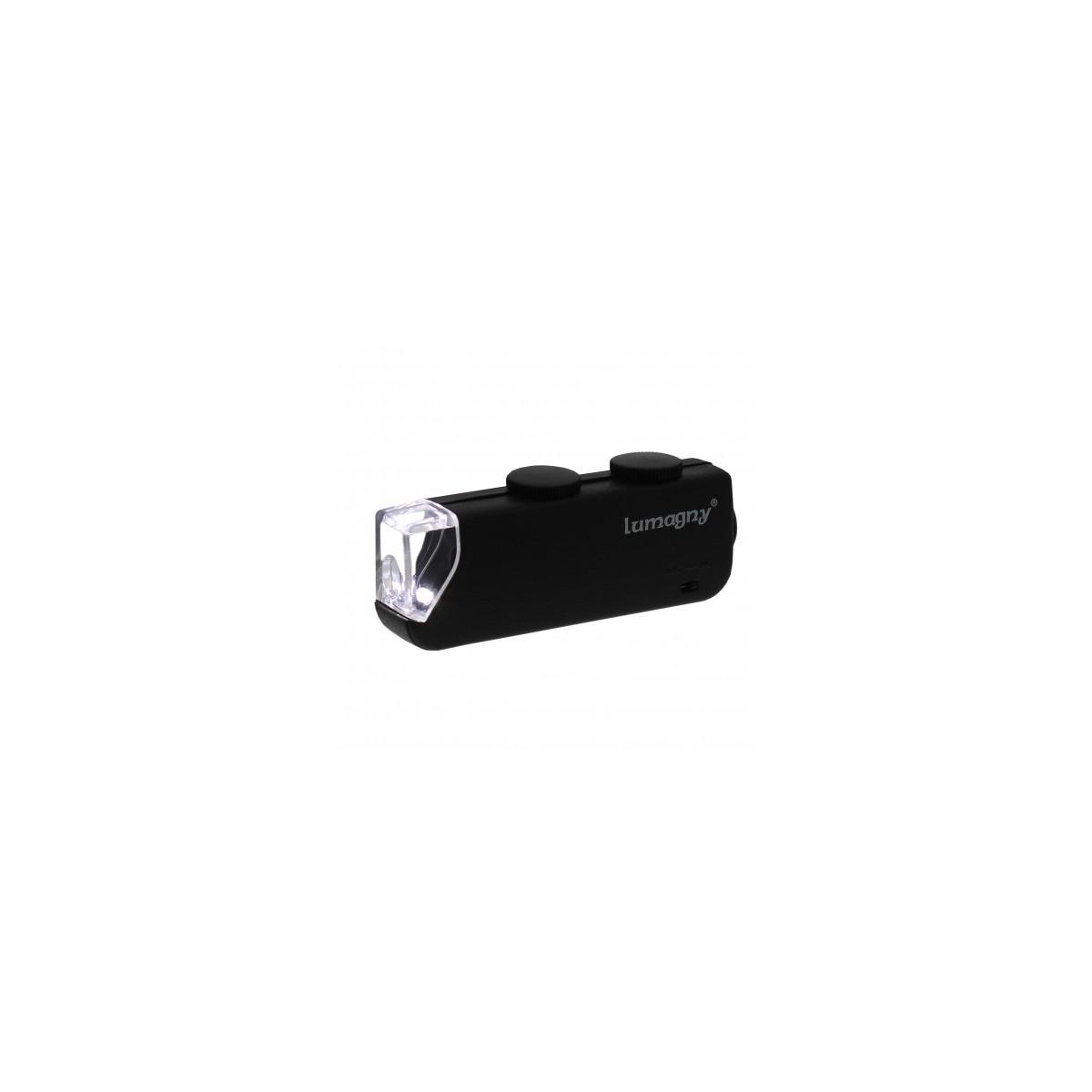 Microscope x60-100 de poche  - 1