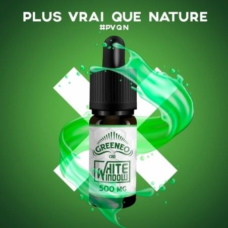 E-liquide White Window Greeneo 10ml Greeneo - 1