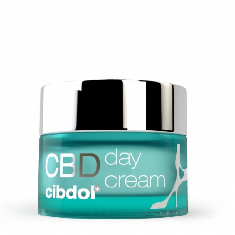 Crème de Jour SPF 15 au CBD CIBDOL - 1