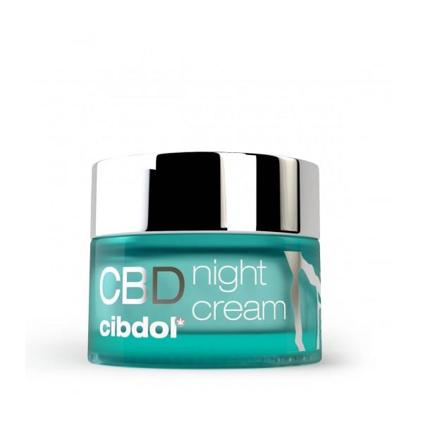 Crème de nuit au CBD CIBDOL - 1