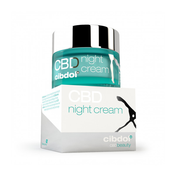 Crème de nuit au CBD  - 3