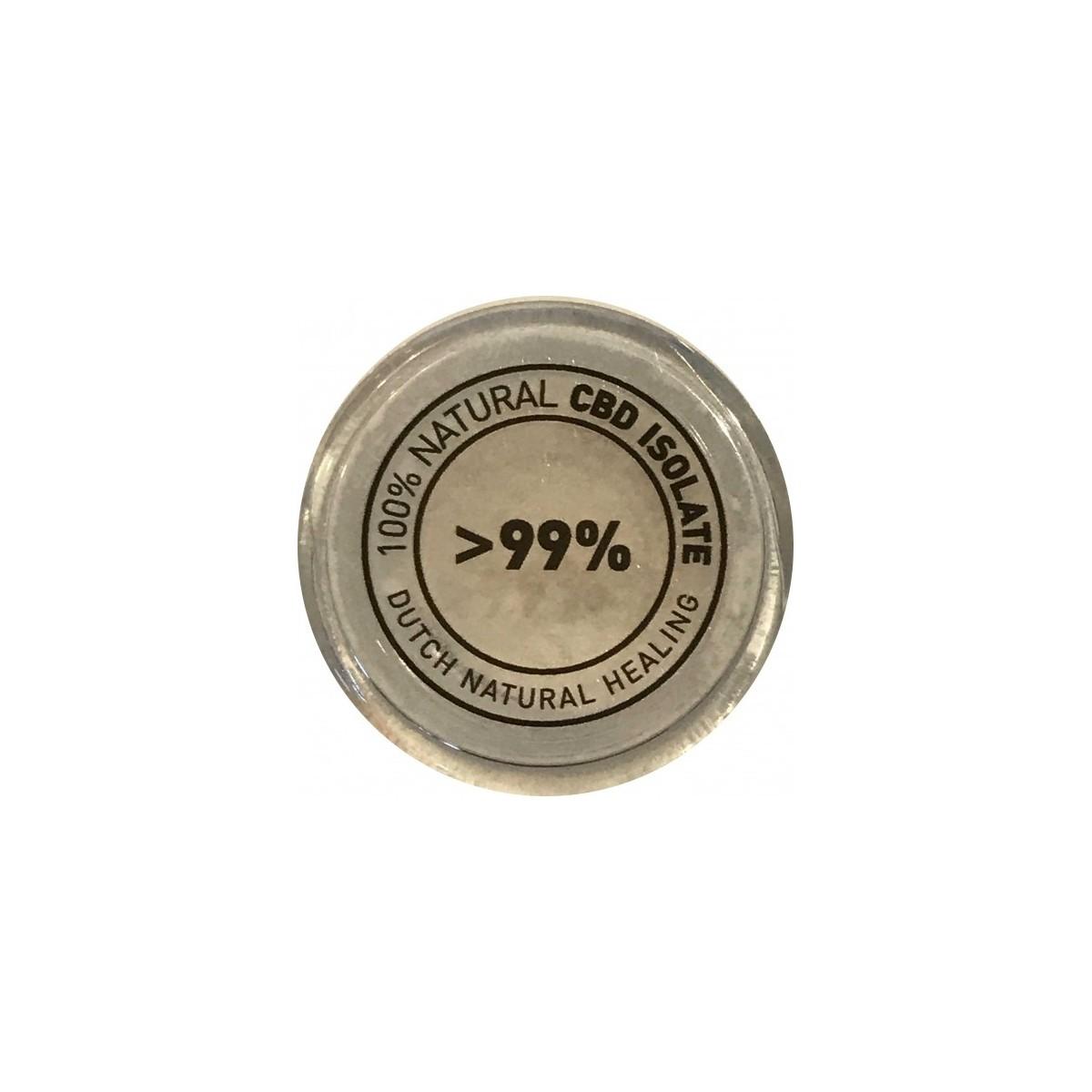 Cristaux CBD pur 99.9% 1Gr Dutch Natural Healing - 2