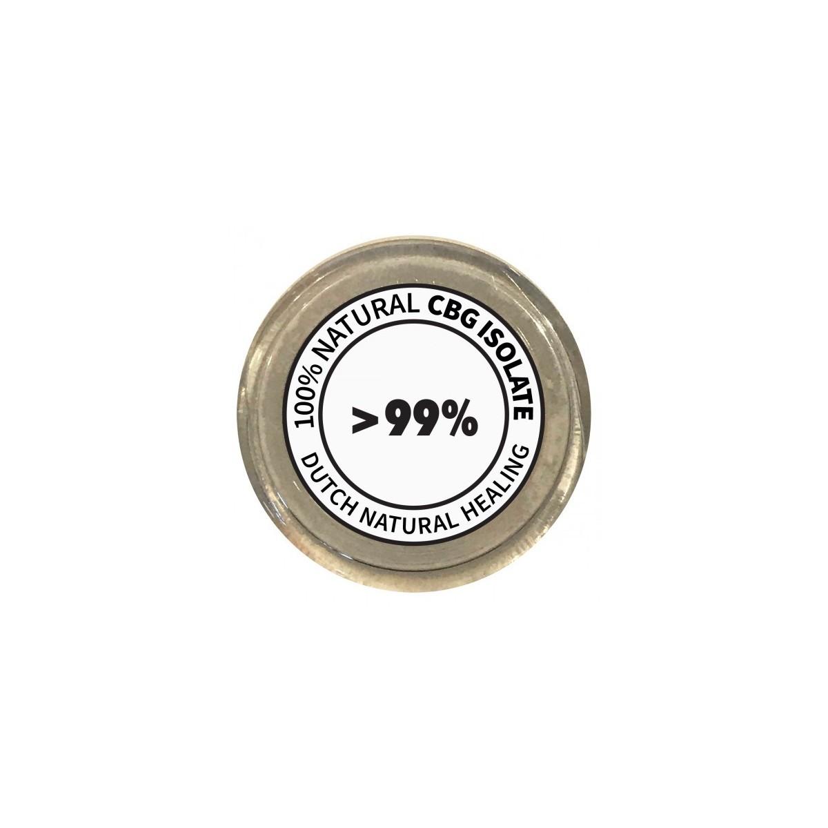 Cristaux CBG pur 99.9% 1Gr Dutch Natural Healing - 1