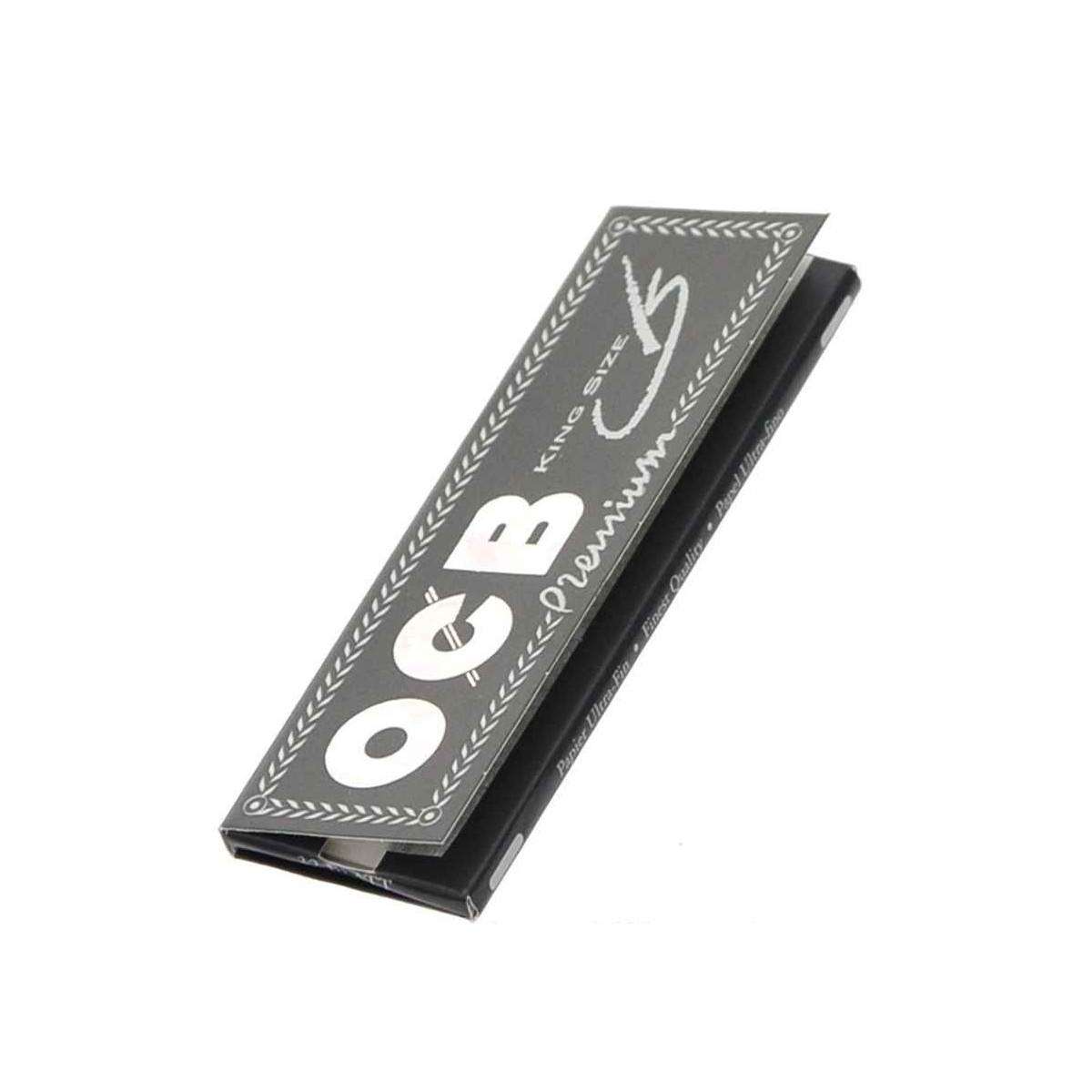 OCB premium Kingsize noir  - 1